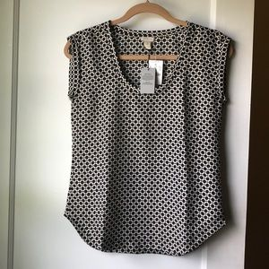 J.crew factory sleeveless top